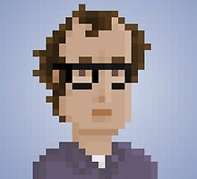 Woody Allen by pixelfaces
