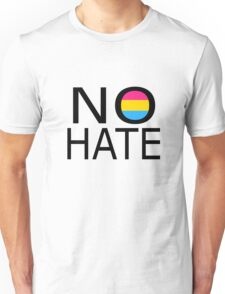No hate! - Pansexual Unisex T-Shirt