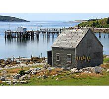 Deep Cove Island Shanty Photographic Print