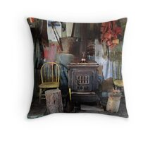 All The Comforts of Home Throw Pillow