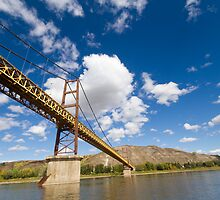 A Bridge over the Peace River by Don Arsenault