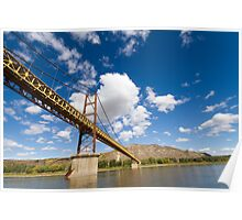 A Bridge over the Peace River Poster