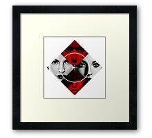Bad Girls - Poker Face Framed Print