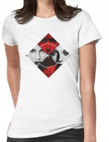 Bad Girls - Poker Face Womens Fitted T-Shirt