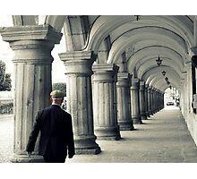 """keep Walking""-johnnie walker Photographic Print"