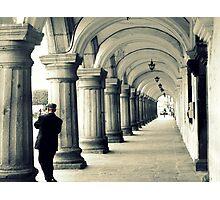 """keep Walking""-johnnie walker 2 Photographic Print"