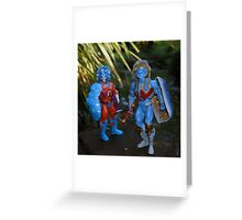 Masters of the Universe Classics - Rokkon & Stondar Greeting Card