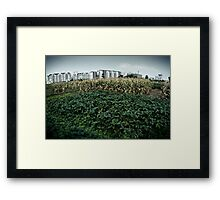 peanuts and corn Framed Print