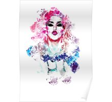 Adore Delano Water Colour Poster