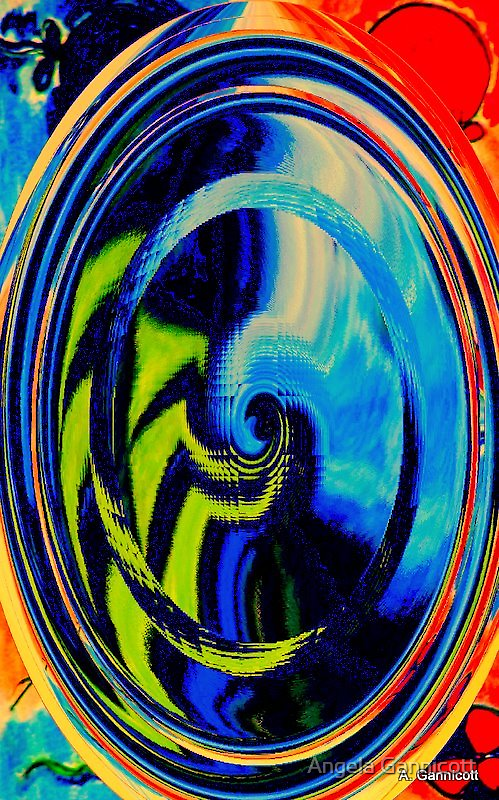 Digital Experiment 1 by Angela Gannicott