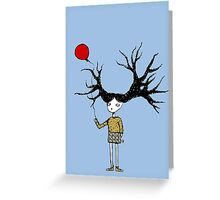 Branch Girl Greeting Card