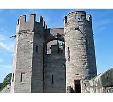 Warwick Castle Towers Photographic Print