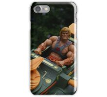 Masters of the Universe Classics - He-Man & the Wind Raider iPhone Case/Skin