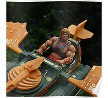 Masters of the Universe Classics - He-Man & the Wind Raider Poster
