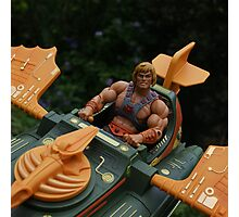 Masters of the Universe Classics - He-Man & the Wind Raider Photographic Print