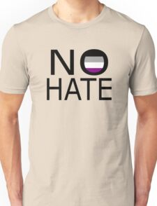No hate! - Asexual Unisex T-Shirt