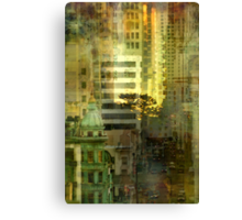 """As the sun goes down"" San Francisco Canvas Print"