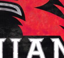Miami University Tie Dye Logo Sticker