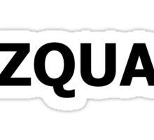 #Zquad  Sticker
