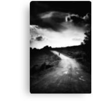 The Walker Canvas Print