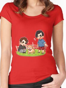 Shiba Phan Women's Fitted Scoop T-Shirt
