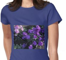Scented Stocks at Sunrise Womens Fitted T-Shirt