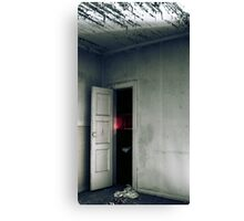 15.9.2010: Red Light Darkness Canvas Print