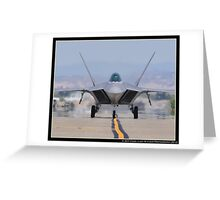The Raptor Comes Home Greeting Card