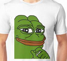 smug pepe / smug frog Unisex T-Shirt