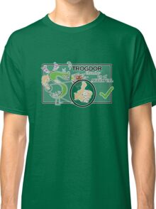 Trogdor's Thumbs-Up Of Approval Classic T-Shirt
