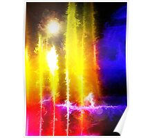 Flare Abstract Poster