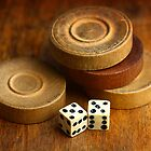 Backgammon Pieces by Dragos Dumitrascu