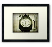 Time keeps on ticking ©  Framed Print