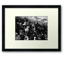 Peak hours Framed Print