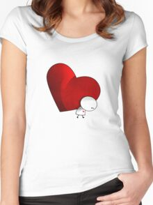Heavy Love - T-Shirt Women's Fitted Scoop T-Shirt
