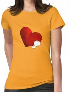 Heavy Love - T-Shirt Womens Fitted T-Shirt