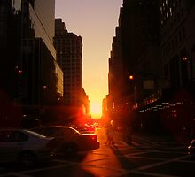 Sunset on 7th Avenue by Kahlia Huddleston