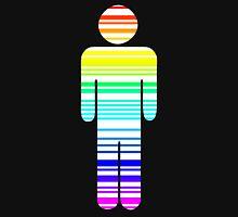 rainbow barcode boy Unisex T-Shirt
