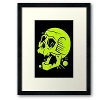 Toxic Scream Framed Print