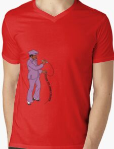 Diggin' on James Brown Mens V-Neck T-Shirt