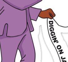 Diggin' on James Brown Sticker