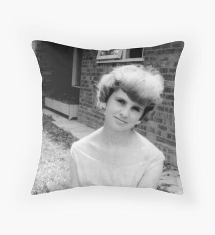 1960's innocence Throw Pillow