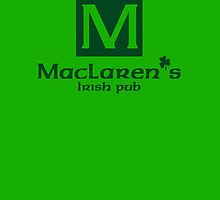 MacLaren's Irish Pub - How I Met Your Mother by hscases