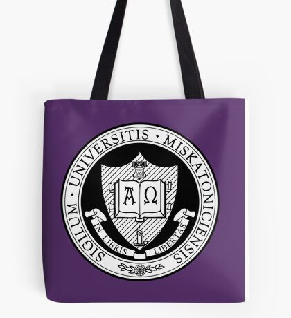 Miskatonic University Seal Tote Bag