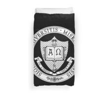 Miskatonic University Seal Duvet Cover