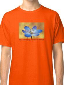 Blue Stars Lily Classic T-Shirt