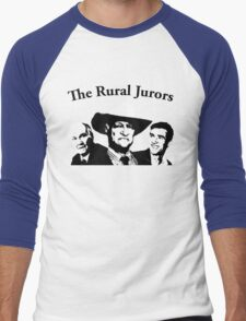 The Rural Jurors Men's Baseball ¾ T-Shirt