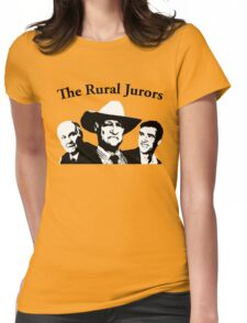 The Rural Jurors Womens Fitted T-Shirt