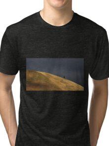 Dark sky shoulder Tri-blend T-Shirt
