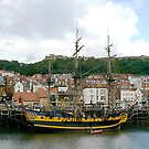 Scarborough Harbour by Trevor Kersley
